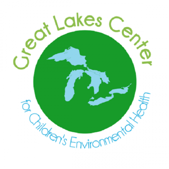 The logo of the Great Lakes Center for Children's and Reproductive Environmental Health.
